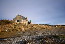 Free The Church Of The Good Shepherd At Lake Tekapo Royalty Free Stock Photo - 16092555