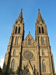 Neogothic Church Stock Photos