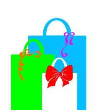 Free Gift Bags Royalty Free Stock Images - 16092889