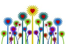 Free 3d Flowers Royalty Free Stock Photography - 16093037