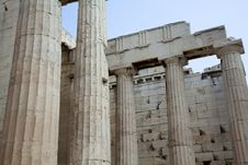 Free Propylaea Royalty Free Stock Photography - 16093057