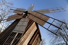 Traditional Windmill House Royalty Free Stock Images