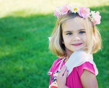 Playing Dress Up Royalty Free Stock Photography