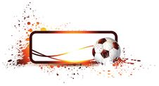 Abstract Football Frame