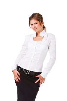 Free Young Attractive Businesswoman Stock Photo - 16094050