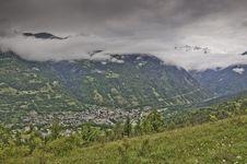 Vanoise National Park Stock Photo
