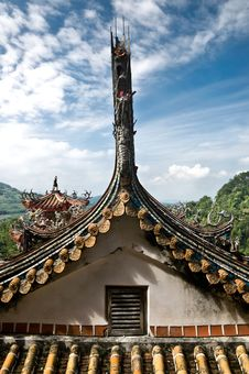 Free Traditional Roof, Taiwan Stock Photography - 16094762