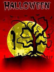 Free Halloween  Illustration Stock Images - 16095134