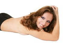 Free Smiling Sexy-girl Stock Image - 16095501