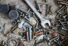 Free Screws Stock Images - 16095704
