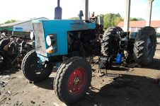 Free Shreded Tractor Stock Images - 16095724