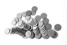 Free Lebanese One Livre Coins Stock Image - 16096411