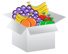 Free Open Box In Fruits Stock Photo - 16096860