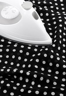 Free Ironing Delicate Silky Fabric Royalty Free Stock Images - 16096909