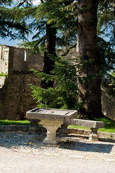 Free Stone Table Stock Photos - 16097033