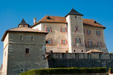 Free Thun Castle Royalty Free Stock Photos - 16097038