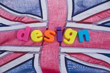 Free British Design: Possible Logo. Royalty Free Stock Photography - 16097377