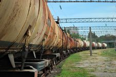 Free Train Transports Old Tanks Royalty Free Stock Photo - 16097505