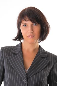 Free Beautiful Business Woman Royalty Free Stock Photography - 16098097