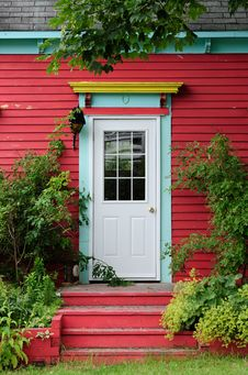 Free Foliage Door Stock Image - 16098191
