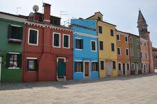 Free Burano Island In Venice Stock Image - 16098501