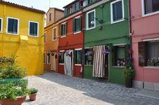 Free Burano Island In Venice Stock Image - 16098551