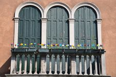 Free Balcony In Murano Island, Venice Stock Photo - 16098610