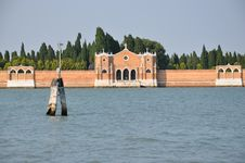 Free Cementery Of Venice Royalty Free Stock Photography - 16098687