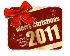 Free Christmas Greeting Card Royalty Free Stock Image - 16098936