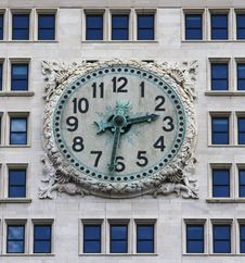 Free Clock In NYC Stock Photos - 16099013