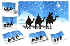 Free Christmas, Illustration Of Christmas Card Royalty Free Stock Image - 16099026
