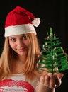 Free Christmas Girl Stock Photography - 1610322