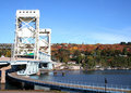 Free Houghton Vertical Lift Bridge Royalty Free Stock Photography - 1614217