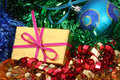 Free Christmas Ornaments And Gift Stock Photography - 1619052