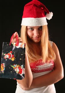 Free Christmas Girl Stock Photography - 1610372