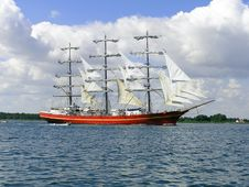 Free Old Sail-ship Royalty Free Stock Photos - 1610718