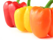 Peppers Close Up Royalty Free Stock Photos