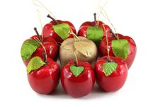 Free Hand Made Apples Royalty Free Stock Image - 1610886