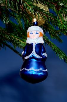 New-Year Tree Decorations Royalty Free Stock Image