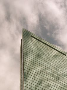 Free John Hancock Tower On A Cloudy Day, Boston Royalty Free Stock Photography - 1611637