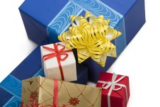 Free Gift Boxes 38 Royalty Free Stock Photo - 1611885