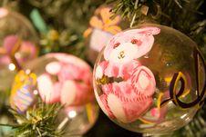 Free Christmas Balls Stock Image - 1612391