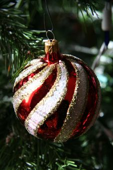Christmas Ball Ornament Royalty Free Stock Images