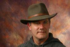 Free Cowboy Or Rancher Portrait Stock Image - 1614891