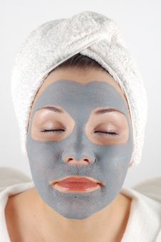 Free Spa Mask 13 Royalty Free Stock Photos - 1615438