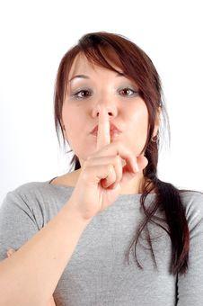 Free Silence 3 Royalty Free Stock Image - 1616146