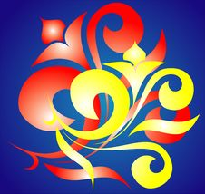 Free Abstract Calligraphy Stock Photos - 1616603