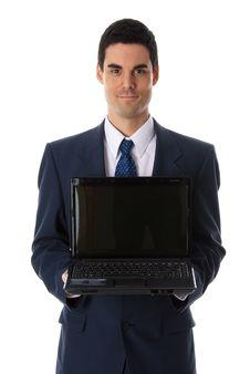 Free Showing Laptop Stock Image - 1616761