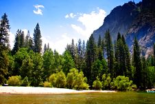 Free Yosemite National Park, USA Royalty Free Stock Image - 1617106