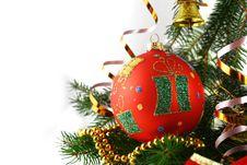 Free Christmas Bauble Stock Image - 1617621